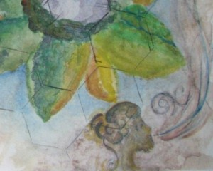 Like Petals Earth Map Detail wind lotus island
