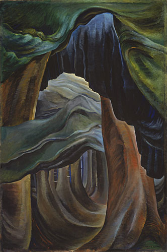 """Forest, British Columbia, 1931 - 1932"", Emily Carr (Photo: Trevor Mills) © Vancouver Art Gallery, all rights reserved"