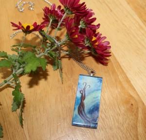 """possessions, fleeting"" necklace pendant etsy"