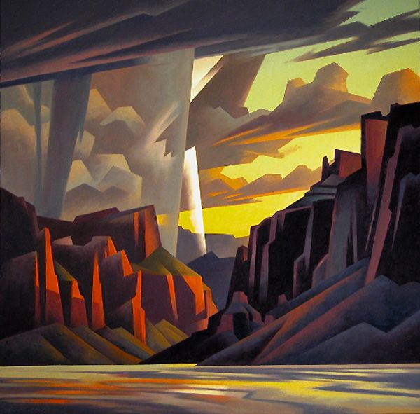 """Canyon Strike"" by Ed Mell"