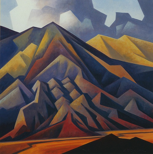 """Eroded Mountain"", Ed Mell."