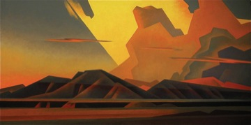 """Soft Western Winds"", Ed Mell."