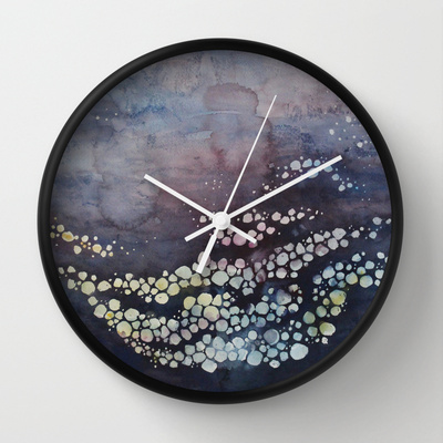 stars-come-down-in-you-society6-clock
